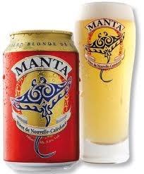 MANTA beer - New Caledonia