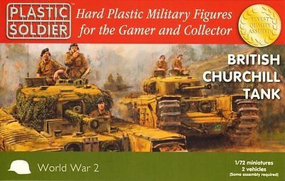 Plastic soldier company 1/72 #british #churchill tank x 2 #ww2v20017,  View more on the LINK: 	http://www.zeppy.io/product/gb/2/112239134043/