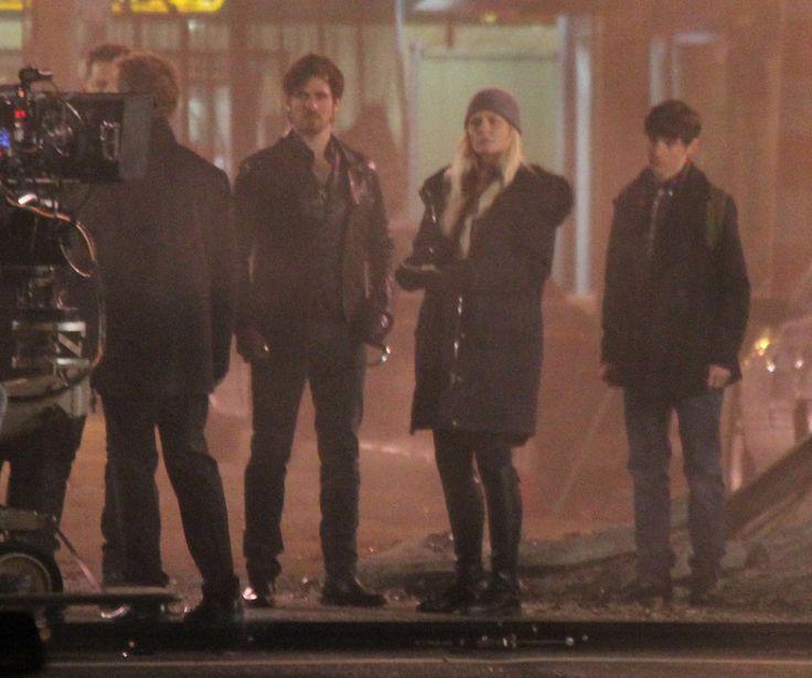 "Jennifer Morrison, Colin O'Donoghue, Jared Gilmore and Greg Germann - Behind the scenes - 5 * 20 ""Firebird"" - 23 February 2016"