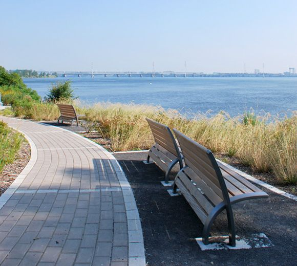 LEMAYMICHAUD | Design | Architecture | Park | landscape | Montreal | Waterfront | Trees | Concrete | Bench