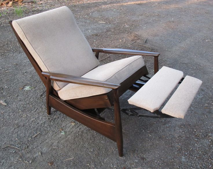MILO BAUGHMAN STYLE MID CENTURY RECLINER & Best 25+ Midcentury recliner chairs ideas on Pinterest | Eclectic ... islam-shia.org