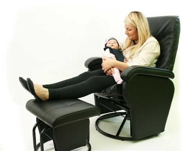 12 Best Rocking Chair Amp Ottoman Images On Pinterest