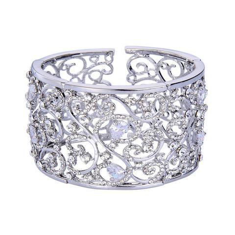 Leilani Crystal Elegant Cuff