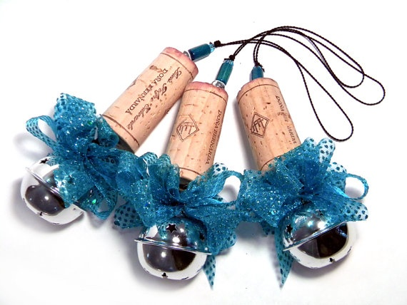 bottle cork ornament