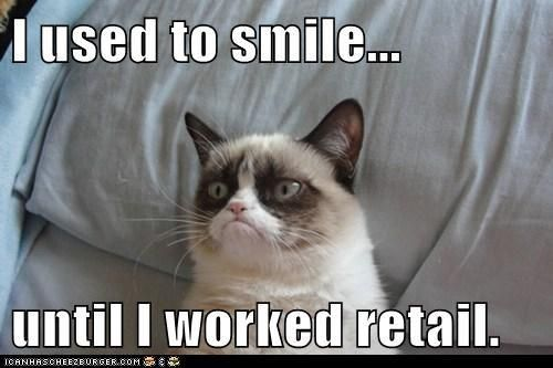I feel your pain, grumpy cat