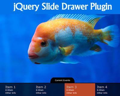 jQuery Slide Drawer Plugin