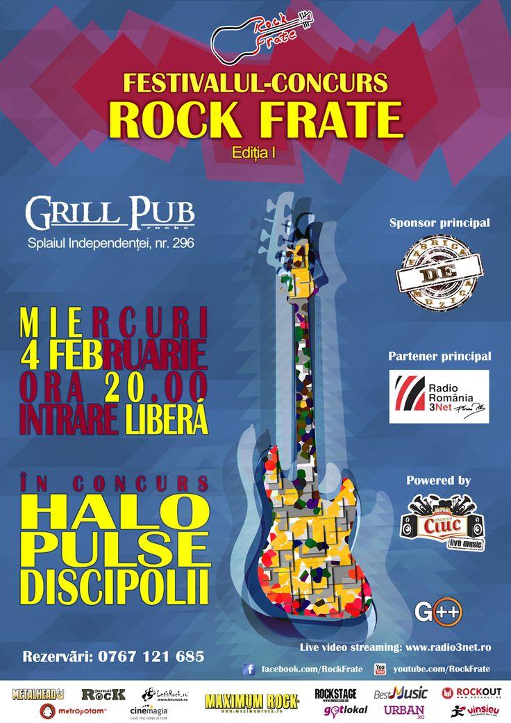 Rock Frate: Începe ROCK FRATE! https://www.facebook.com/rockfrate