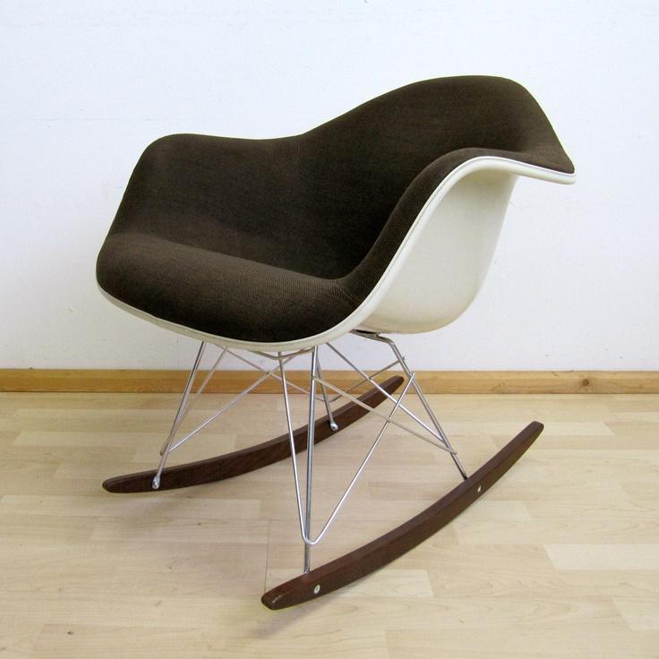Eames rocking chair RAR brown