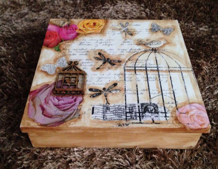Caja romantica Shabby