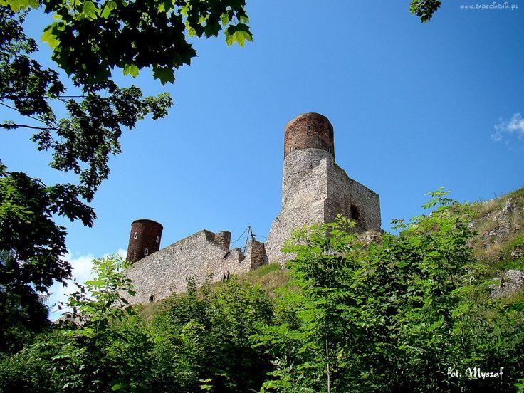Ruiny, Zamek, Chęciny