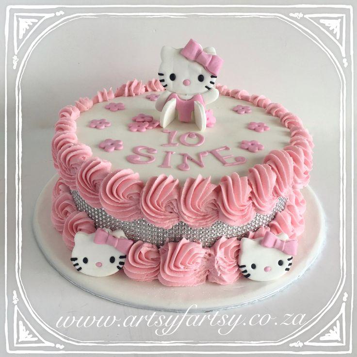Hello Kitty Cake #hellokittycake
