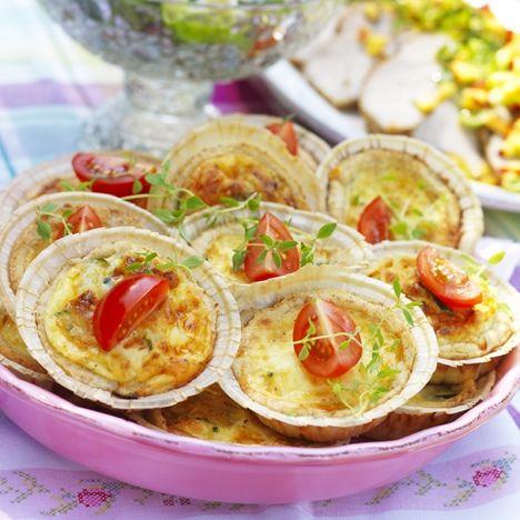 Prästostpaj med zucchini. Hitta receptet på www.hemmetsjournal.se!
