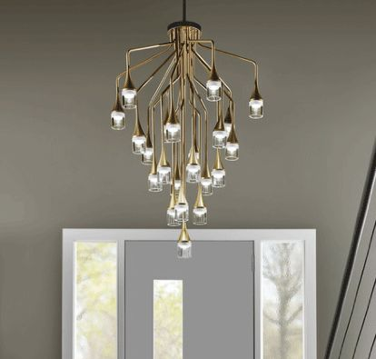 A modern take on a traditional chandelier by Tech Lighting & 64 best Tech Lighting images on Pinterest | Led chandelier ... azcodes.com