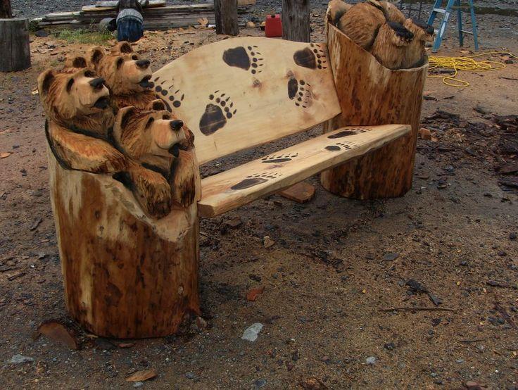 Jordan wood carvings welcome anderson