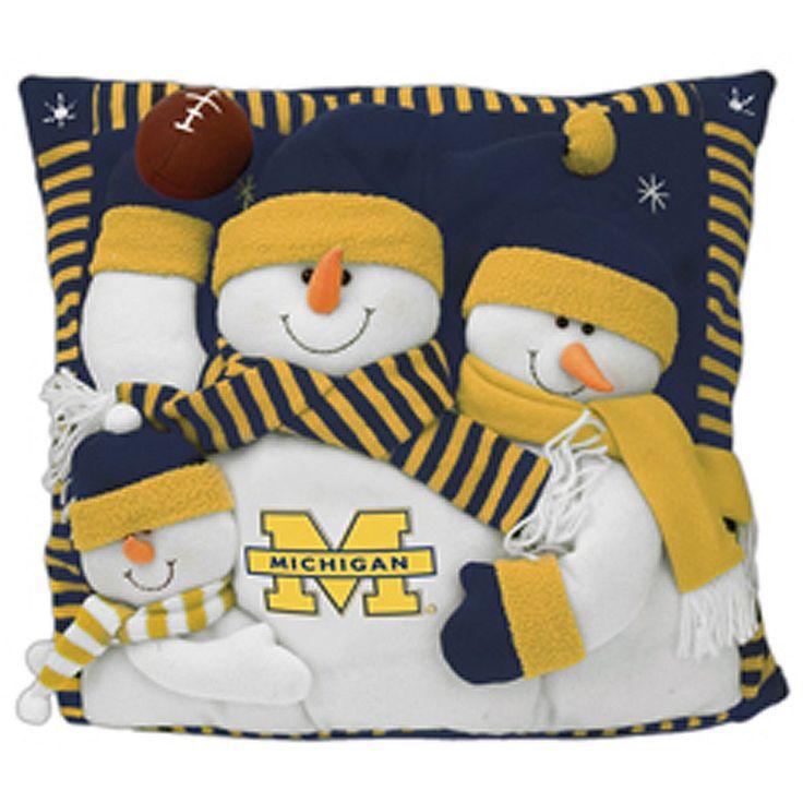 Michigan Christmas pillow!
