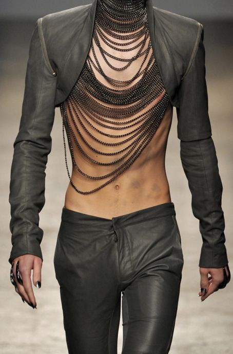 A Goth Hipster. Ok REALLLLLY love it, but know I wouldn't leave home in it......well mayyyybe.