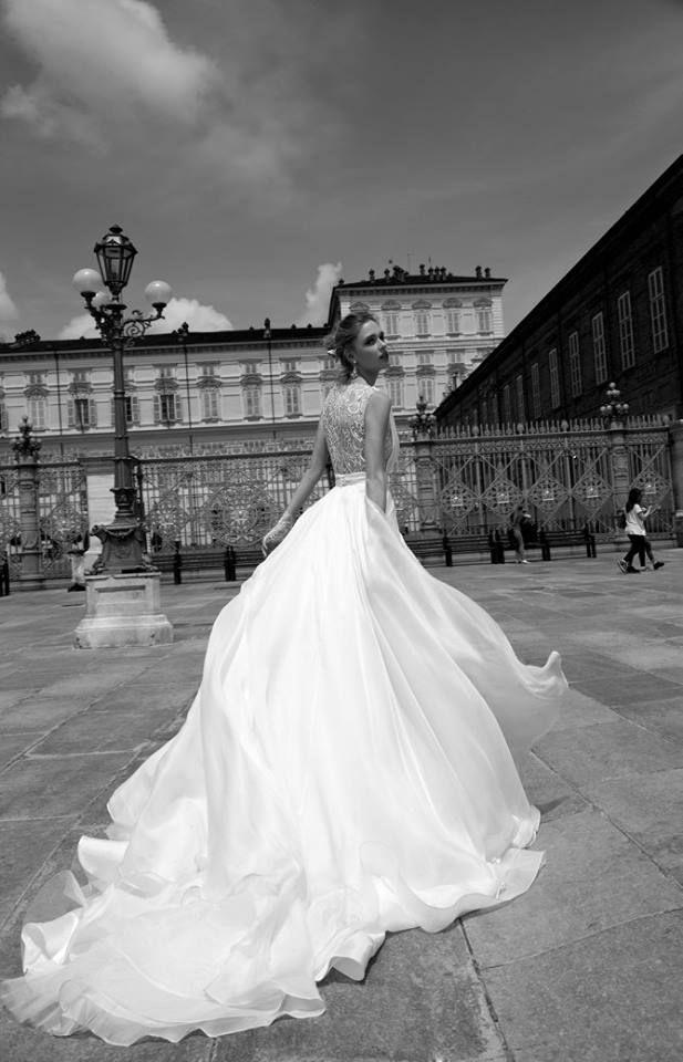 Organza e seta per un matrimonio da favola.. Abito da sposa di Nicole Spose  #wedding #weddingdresses #dream