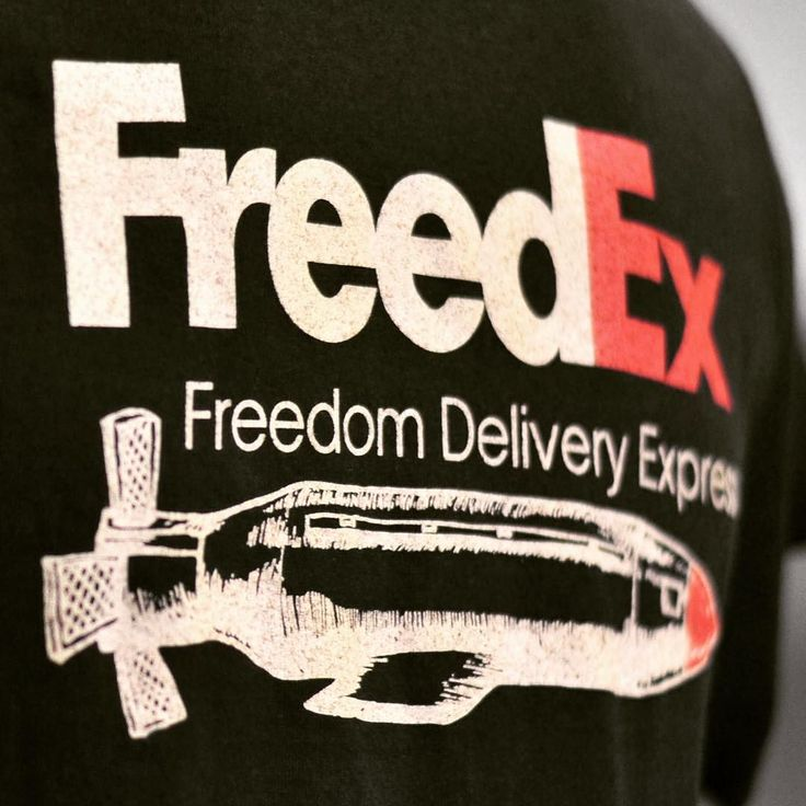When you need a Freedom on Time use FreedEx - Freedom Delivery Express you can buy on our web shop www.lapatcheria.com #freedex #freedomdeliveryexpress #freedomontime #funnytshirt #crazytshirt #lapatcheria