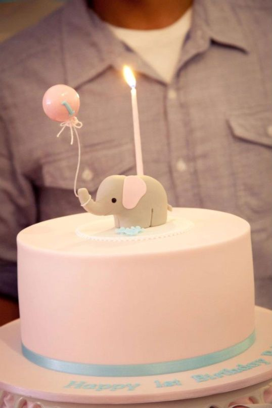 @Gabby Grady. Gabby...I'm gonna need you to suggest this for little Ella's birthday. Even if you don't like it. Even if SB won't like it. (Hopefully you both do.) I love this elephant cake.