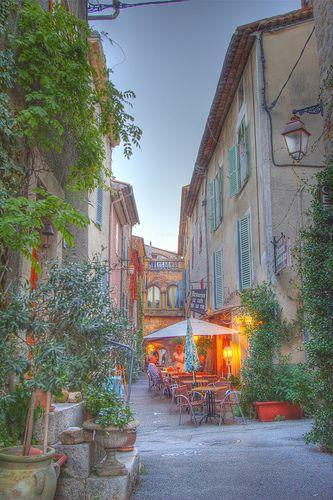 Ruelle de Valbonne, Alpes-Maritimes, Provence