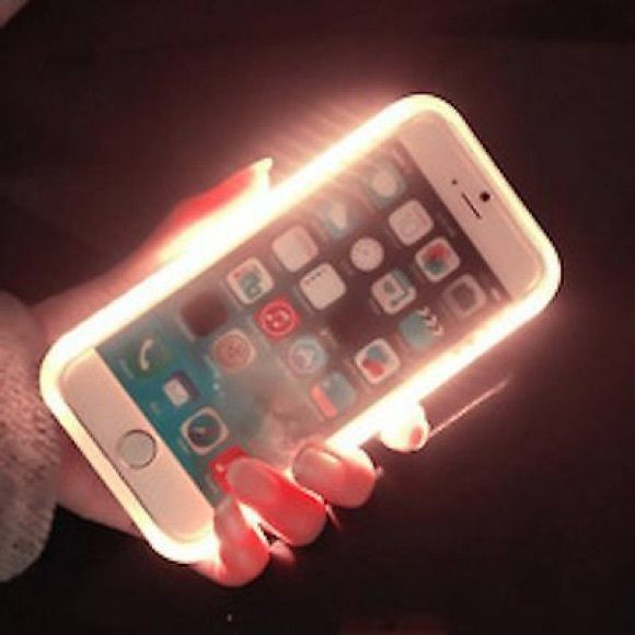 ST LED Light Up Selfie LUMee New in box ST LED Light Up Selfie Lumee Phone Cover Case Apple iPhone 6 Plus Lumee Accessories Phone Cases
