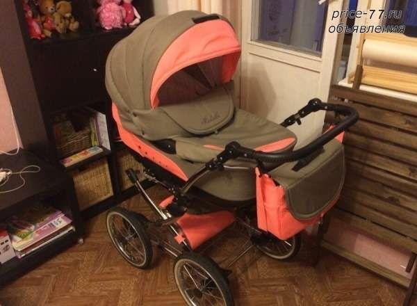 Детская коляска Caretto Michelle F 3 в 1, Москва