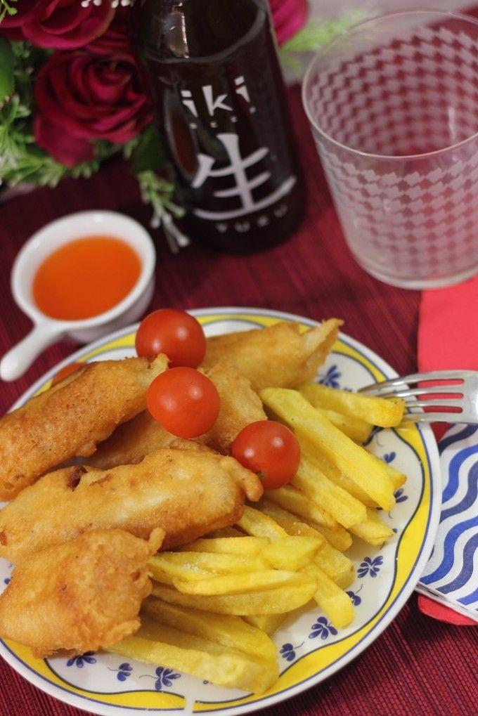 Pescado rebozado crujiente perfecto, Fish and Chips