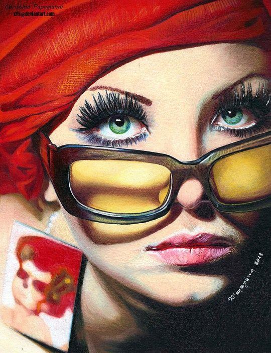 Christina Papagianni - Colored Pencil Art