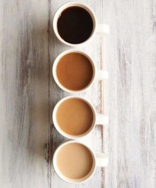 shades of coffee/ or shades of tea..we could play round the idea that there's something for everyone? unless not styled enough?