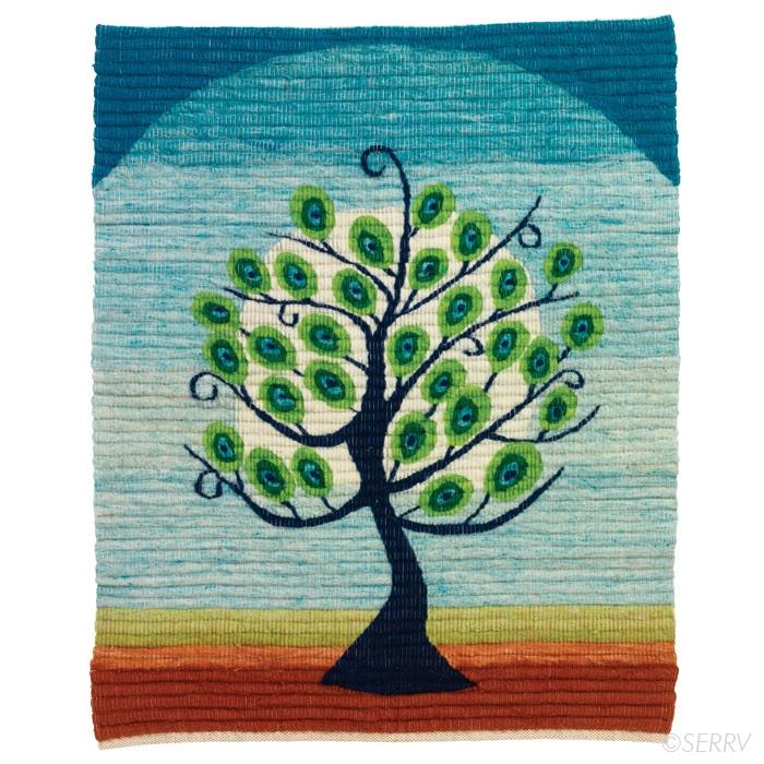 peacock tree tapestry.
