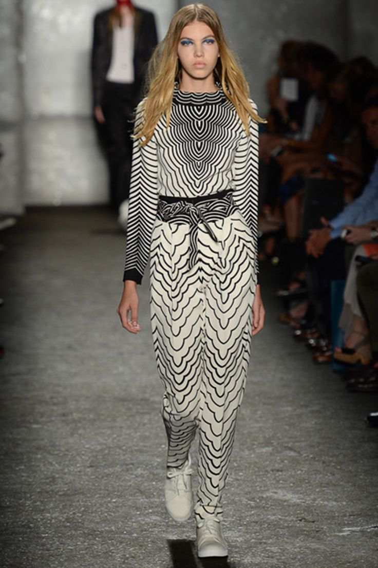 Marc by Marc Jacobs S/S 2014 - Bold Black-and-White