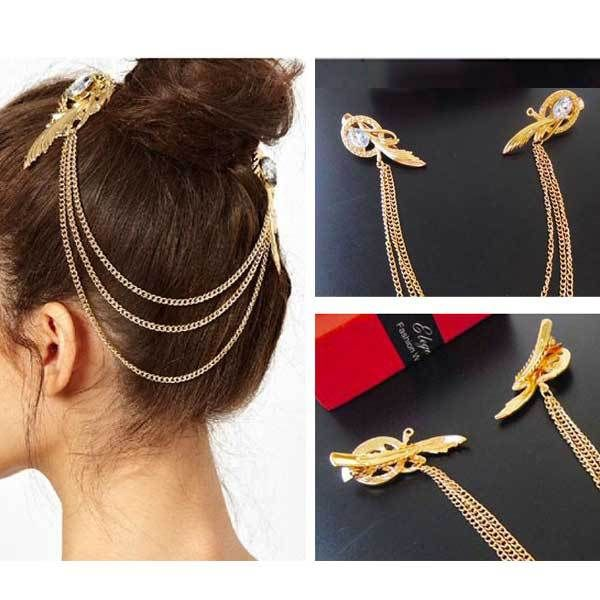 Cheap hair clip, Buy Quality clip necktie directly from China hair clip fascinator Suppliers:    Women Unisex Charm Bracelets Fashion Vintage Bracelets Simple Geometric Style Pop Punk Metal Bracelet Gold Bangles 12