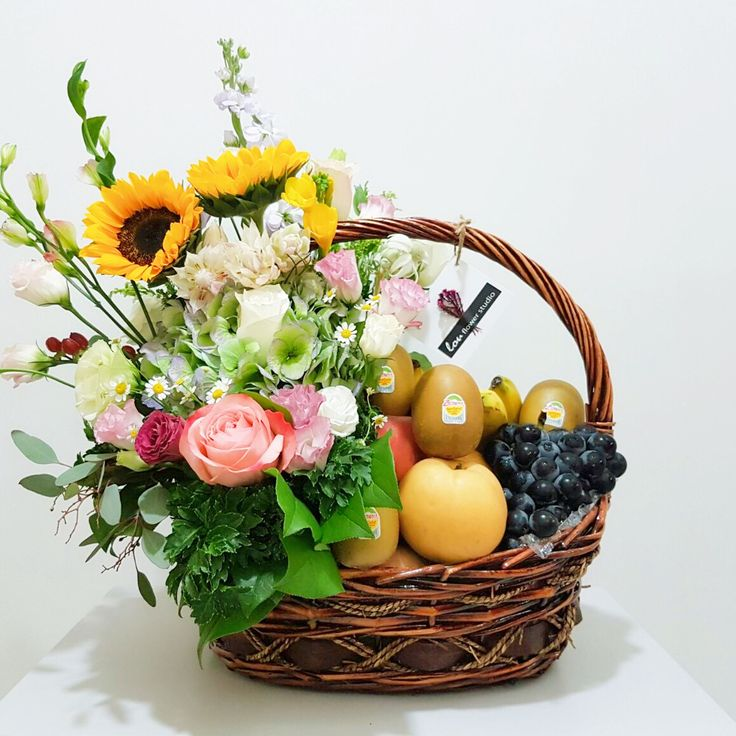 Fruit basket arrangement