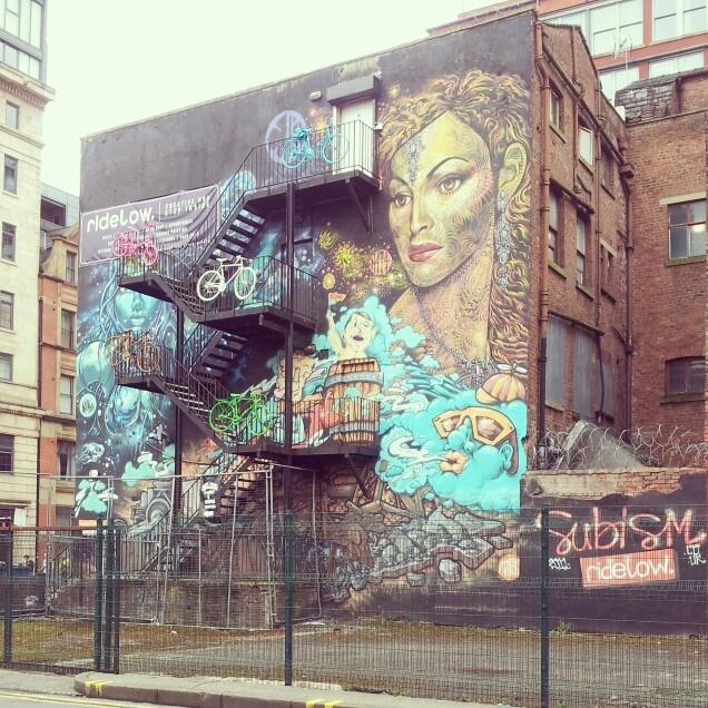 Manchester urban, graffiti