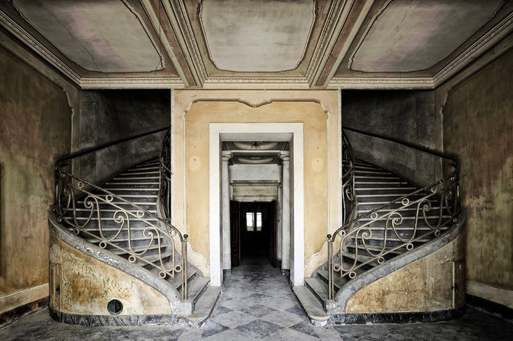 "archatlas:  "" Time Witness by Stefano Barattini  Stefano Barattini's project refers to transition spaces, places sometimes left behind, exposed to a possible mutation. These places go back to a vague time, exploring an abandoned condition of which we..."