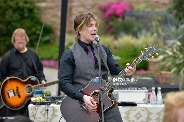 Johnny Rzeznik of the Goo Goo Dolls Surprise Performance at BRIDES Live Wedding on June 2, 2017 in Laguna Beach, California.