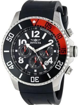 Invicta Pro Diver Chronograph Quartz Tachymeter 15145 Mens Watch