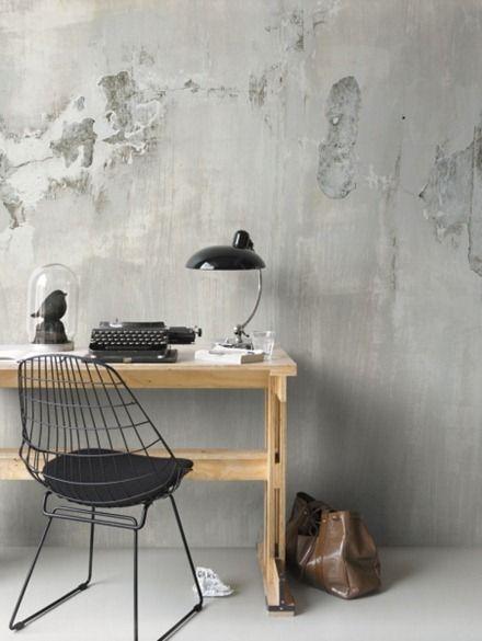 Midbec, tapet Factory fototapet vintage lamps | design style | lighting design | desk lamps