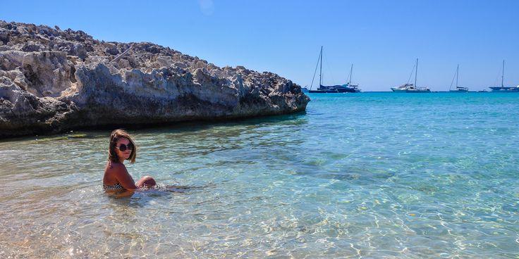 Mit der Fähre kommt man im Nu von #Ibiza nach #Formentera © Carina Dieringer/modelirium.at