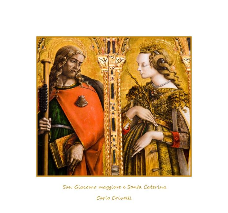 San Giacomo e Santa Caterina Di Carlo Crivelli