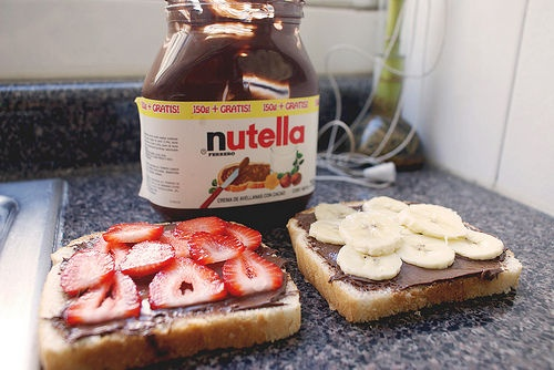 this sandwich looks delicious!: Sandwiches, Sweet, Yummy Food, Bananas, Recipes, Strawberry Banana, Nom Nom