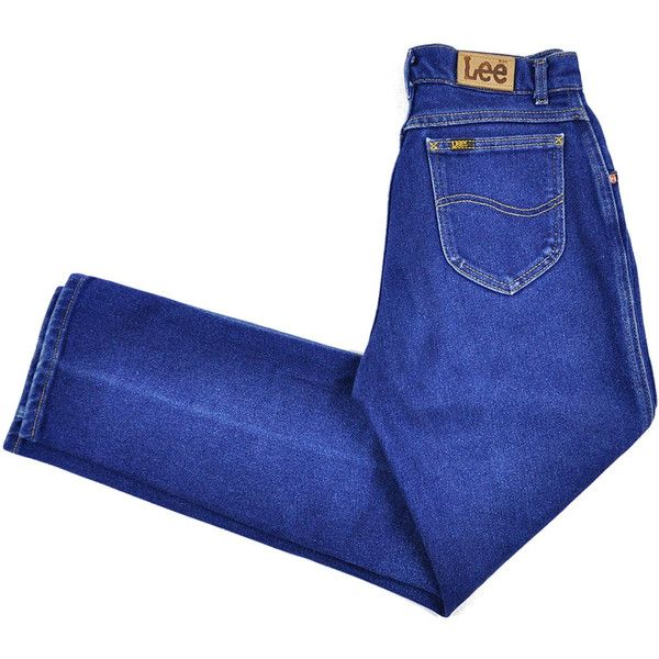Size 8, 70s LEE Jeans, Retro Ultra High Waist Jeans, Vintage LEE,... (€44) ❤ liked on Polyvore featuring jeans, skinny jeans, high-waisted jeans, blue jeans, vintage high waisted jeans and stretch skinny jeans