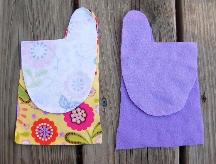 ikat bag: Mittens - and they're theoretically reversible