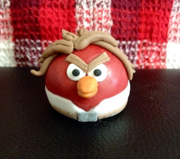 another cute edible angry birds star wars figure