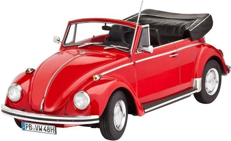 VW Käfer 1500C Building Kit Scale 1/24 Model Car High Detailed Plastic Hobby NEW #RevellofGermany #Custom