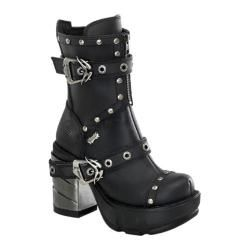 Women's Demonia Sinister 201 Black PU - Overstock™ Shopping - Great Deals on Demonia Boots
