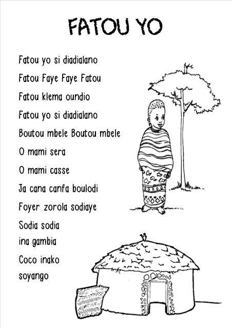 La maternelle de Laurène: Fatou Yo