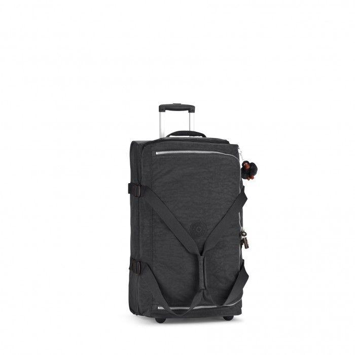 Kipling Basic Wheeled Luggage Teagan M Trolley-Reisetasche Black