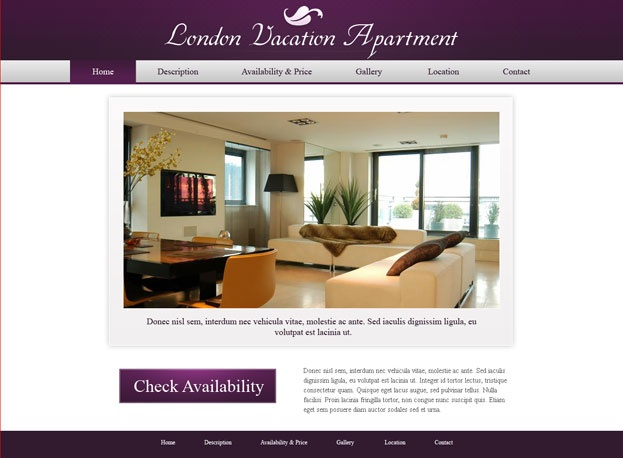 holiday home website template vacation rental web templates phpjabbers webdesign