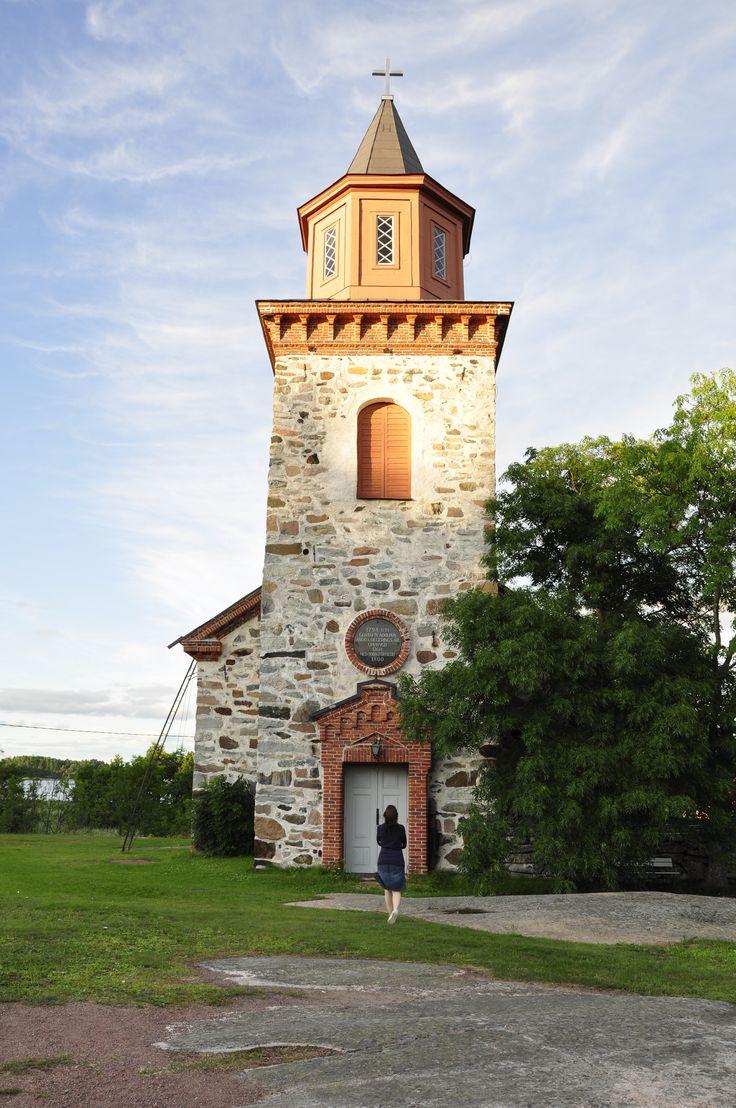 Iniön kirkko - Iniö kyrka - Iniö church, Finland